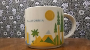 YOU ARE HERE California Starbucks Collection City Coffee Mug
