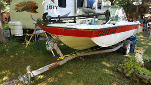 16' Bowrider converted to fishing boat for sale