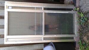 aluminum storm windows