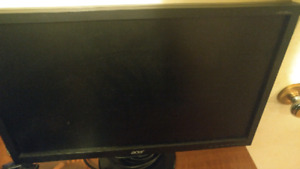 """19"""" and 20"""" acer monitor"""