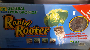 Hydroponics rooting trays