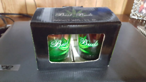 Best Buds 4oz shot glasses