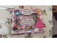 Girls puzzle sorting book