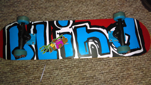Skateboard from O.L.S. Ch-town used five times, Mind condition