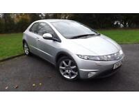 2007 57 HONDA CIVIC 1.8 I-VTEC EX I-SHIFT 5D AUTO 139 BHP