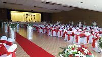 full wedding set up, wedding decoration for less, very elegant