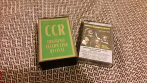 CCR audio cassette tapes