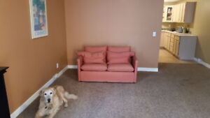 Huge 2 bedroom walkout  in Canmore available 01 Jan