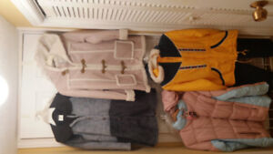 Girl Winter Coats, Size 10/12