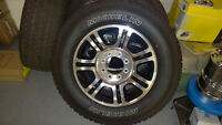 F250 tires & rims, exhaust, running boards