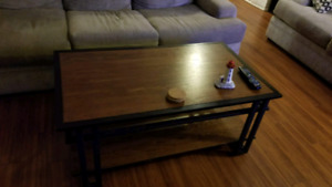 Couch set and table set