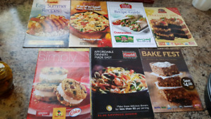 Lot of Cookbooks/Magazines---See all photos