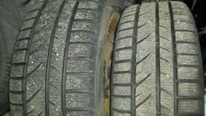 205 55 r16 and 205 65 r16 - winter tires with rims