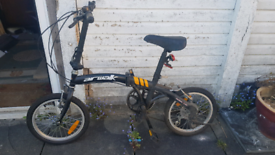 Kids Airwalk folding bike