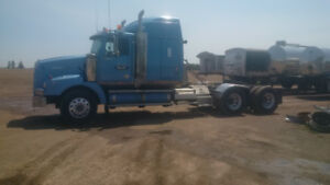 2- Western Star with end dumps