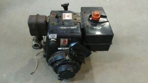 8 HP Tecumseh dual shaft snow blower engine