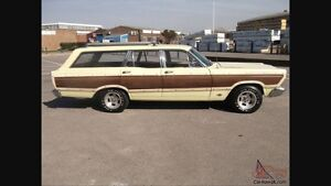1966 Ford Country Squire Station Wagon