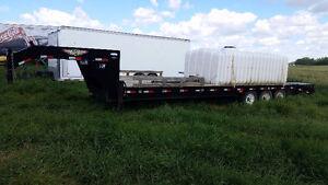 30 ft H&H goose neck trailer Strathcona County Edmonton Area image 1