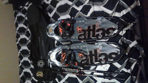 Brand-new Atlas 9 series snowshoes still in package!