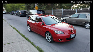 2006 MAZDA 3 GT E-TESTED NO ISSUES