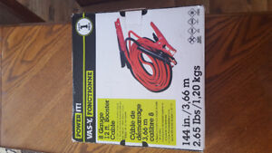 12 Ft Booster Cables. Brand New in the box