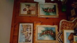 Vintage ART SALE Quality oil paintings various artists West Island Greater Montréal image 3