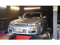 1996 Nissan Skyline R33 2.5 GTST Spec 2 petrol manual in silver