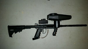 TIPPMANN 98 CUSTOM, E-TRIGGER, CYCLONE FEED