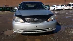 2003 toyota camry se leather 4 Cylinders