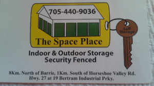 The Space Place 10 x 20 indoor unit $160.00 / month