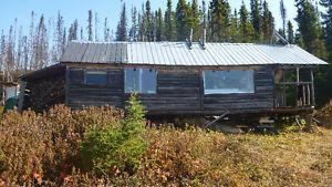 camp de chasse au nord