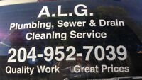 A.L.G. Plumbing, Sewer & Drain Cleaning Service