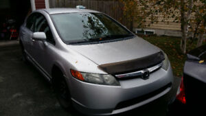 2006 Honda Civic Grey Sedan