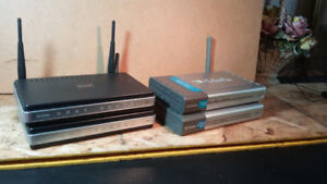 D-Link DI-624 Wireless H/S ,D-Link DI-514, D-Link 615 ROUTERS