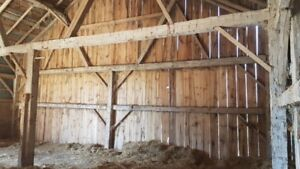 Timber frame barn coming up for sale