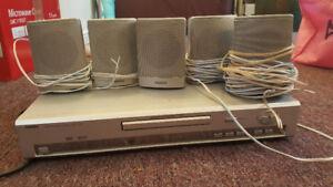 Malata 5 speaker surround sound system