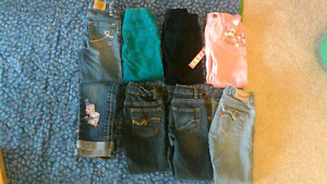 Girl jeans 3T-4T $20 for all