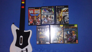 PS2 and Xbox games