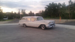 Trade 58 wagon 2 door for 58 4 door wagon