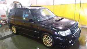 Subaru Forester S/tb Type A JDM Trade for the right Side x Side