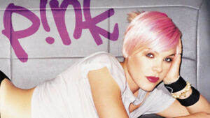P!NK- Section 120, Row 4- Scotiabank Arena- Monday, May 13