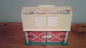FERME FISHER PRICE VINTAGE