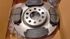 2015-2017 CHRYSLER Front Brakes Rotors & Pads