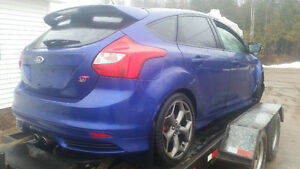 parting out 2014 ford focus st