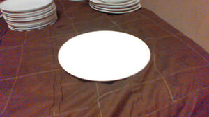 44 White and off white plates different sizes London Ontario image 5