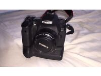 CANON 60D DSLR SLR WITH 50mm f1.8 lens + BATTERY GRIP & RELEASE CABLE