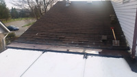 Thinking of getting your roof done ?FLATS OR SHINGLES