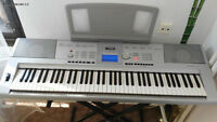 Yamaha Piano DGX-205 w/t Stand & Adapter (76 keys)