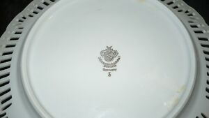 "ANTIQUE BEAUTIFUL ""SCHWARZENHAMMER"" PORCELAIN LATTICE PLATE Kitchener / Waterloo Kitchener Area image 7"