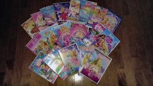 Various Barbie Dvds